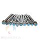 10 Unidades de KIT FIX BAR INOX 10 mm x 110 mm + 10 Porcas Inox + 10 Arruelas Inox TLV-162 TASK