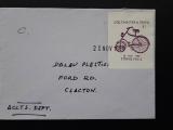 BIKE 1988 Colchester e Essex Strike Mail BIKE  Velo Fahrrad Bicycle CIRCULED!