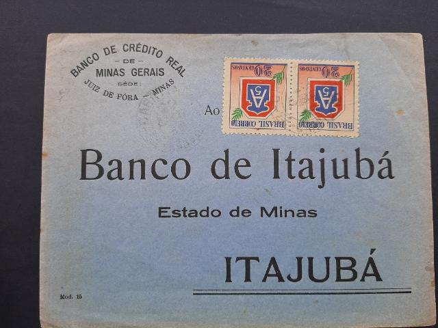 Brazil  ADVERTISING Cover BANK MG