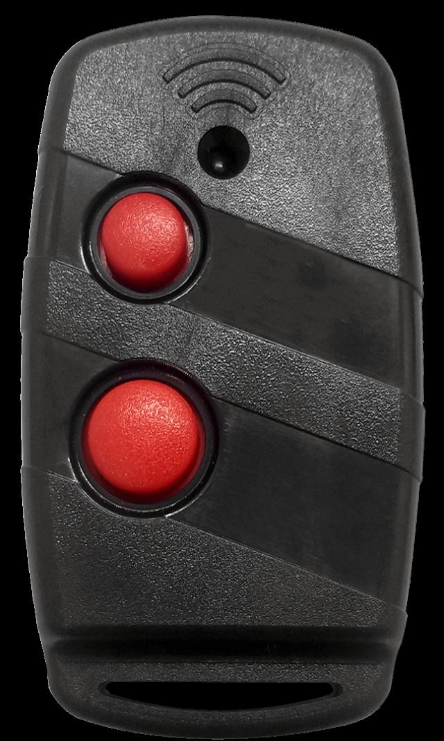Controle Ideal Convencional Modelo 5003 PRETO Clipe + Argola (Codifica na Central)