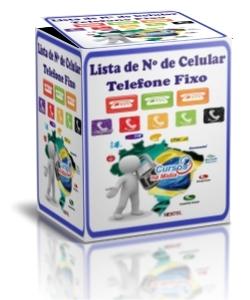 LISTA DE NÚMEROS DE TELEFONE FIXO