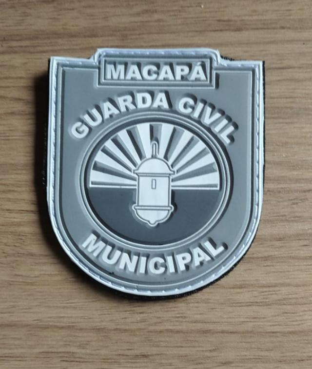 BRASÃO GUARDA CIVIL MUNIPAL DE MACAPÁ -TÁTICO
