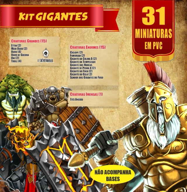 Kit Gigantes - 31 Miniaturas