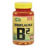 Vitamina B2 Riboflavina - 60 cápsulas 500 mg