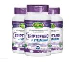 Triptofano (5-HTP) + Vitaminas - Kit 3 Frascos
