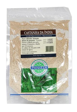 Castanha da Índia em Pó (Aesculus Hippocastanum)