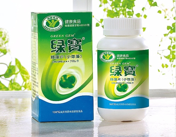 Chlorella Green Gem - 360 tabletes de 250 mg