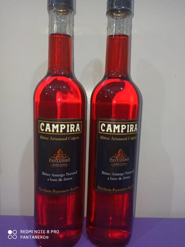 Campira! O Campari Caipira - 500ml 40% Vol.