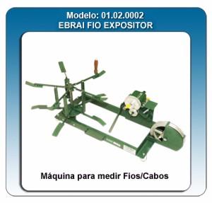 Máquina para expositor mede fios/cabos 1,5mm²/16mm² CERTIFICADA PELO INMETRO Cód. 01.02.0002